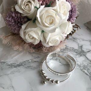 NEW* Stylish Silver Adjustable Bracelet